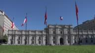 Government Building Santiago, Chile video