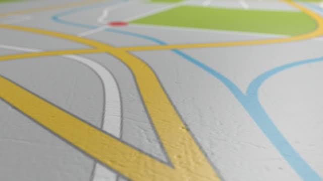 gps map pan towards video