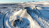 Grabrok Crater Iceland video