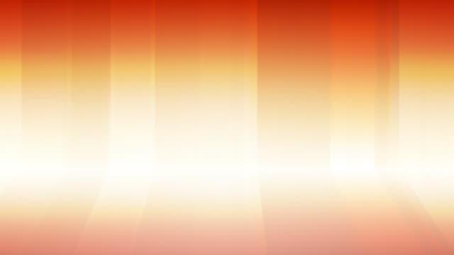 Gradient Curtains Background Loop Orange video
