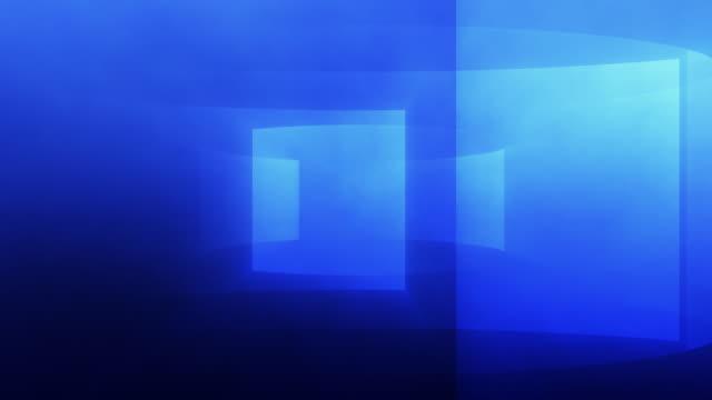 Gradient Turbine Background Loop Blue video