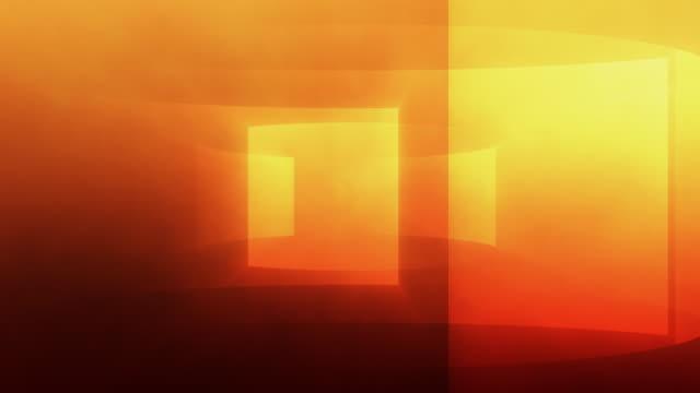 Gradient Turbine Background Loop Orange video