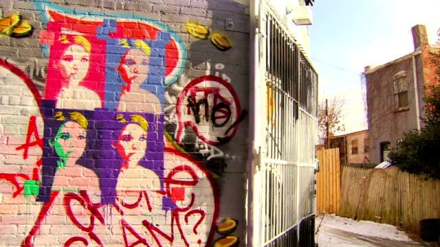 Graffiti Art - Panning video