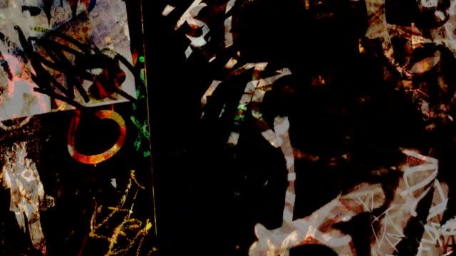 Graffiti Texture video