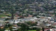 Grahamstown  - Aerial View - Eastern Cape,  Cacadu District Municipality,  Makana,  South Africa video