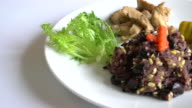 grain with rice berry and roast pork video