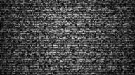 grained distorsed TV noise seamless loop video