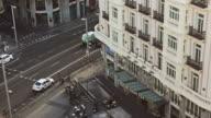 Gran via in Madrid video