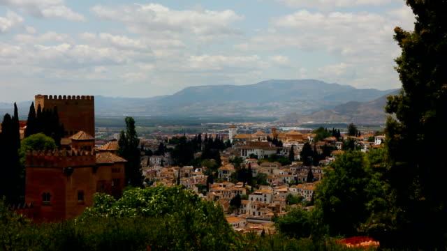 Granada and Alhambra video