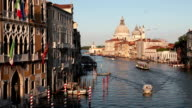 Grand Canal and Santa Maria Della Salute, Venice, Italy video