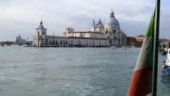 4K Grand canal and Santa Maria della Salute, Venice, Italy video