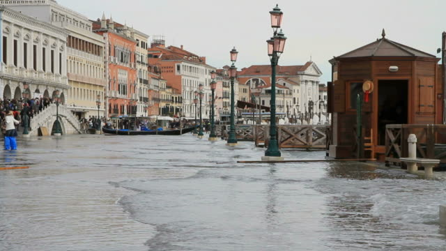Grand Canal Flooding video