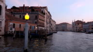 Grand Canal in the city of Venice Italy - Canale Grande video