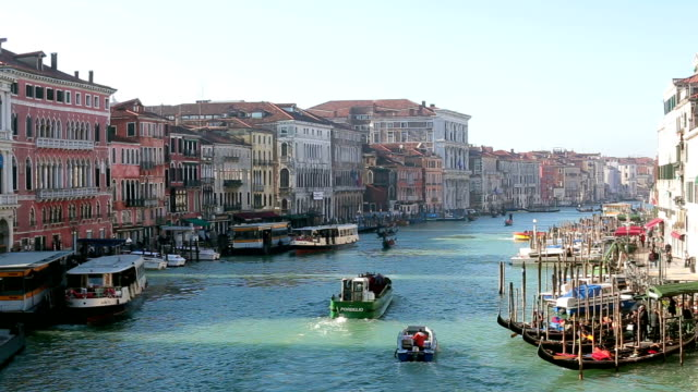 Grand Canal in Venice, Italy video