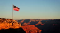 Grand Canyon Flag video