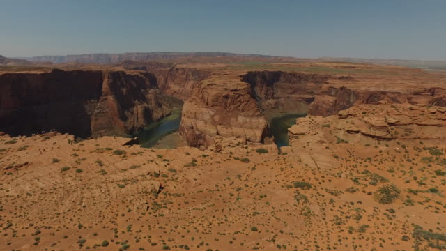 Grand Canyon Horseshoe Bend and Colorado River Arizona video