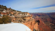 Grand Canyon National Park south rim, Yavapai Point look out video