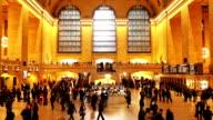 HD VDO :Grand Central Station, New York City video
