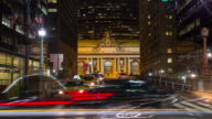 Grand Central Terminal at Night video
