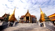 Grand Palace Hyperlapse, Bangkok, Thailand video