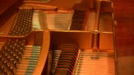 Grand Piano Mechanism Cords (HD) video