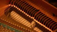 Grand Piano Middle  Cords (HD) video