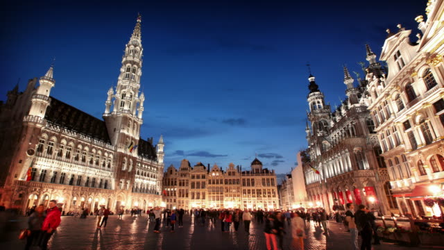 Grand Place Brussels, Belgium video