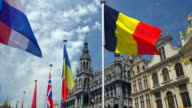 Grand Place in Brussels video