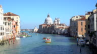 Grande Canale in Venice video