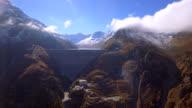 Grande Dixence - Aerial 4K video