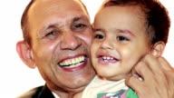 Grandfather and Grandchild video