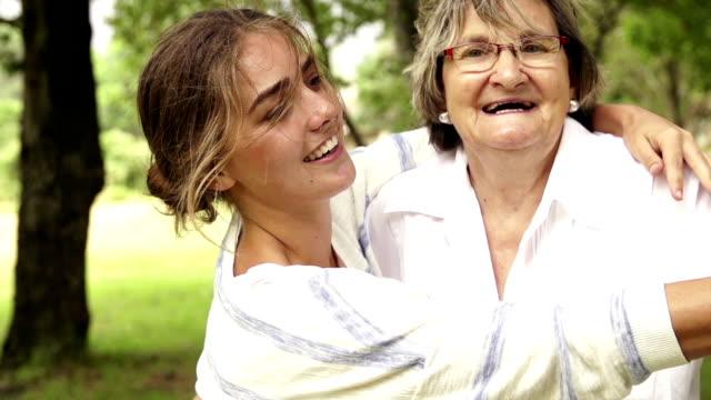 Grandma dancing her granddaughter video