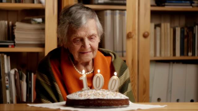 grandmother's 100th birthday - happy video