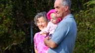 Grandparents Walk with Granddaughter B video