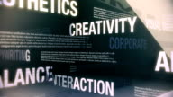 Graphic Design Related Services Seamless Loop video