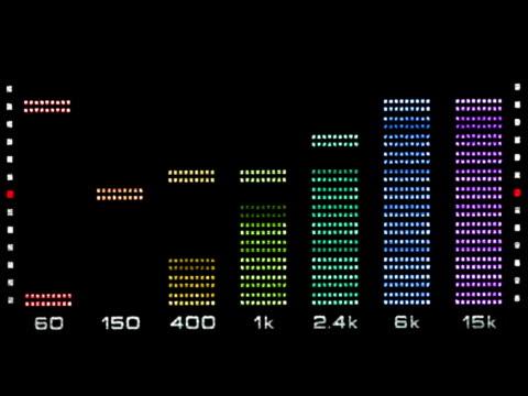 Graphic Equalizer Sound Spectrum video