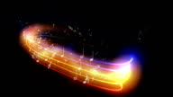 Graphic Music Notes Animations video
