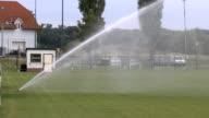 Grass sprinkler video