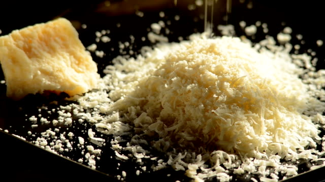 grated Parmesan cheese video