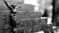 Grave, Figure of Jesus, Cemetery video