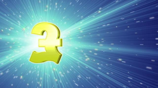 Great Britain Pound Symbol video