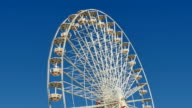Great Classical Fair Ferris Wheel In Toulouse video