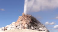 Great Fountain Geyser Erupting video
