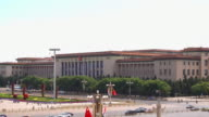 Great Hall of the People at the Tiananmen Square video