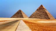 Great Pyramids of Giza Cairo Egypt video