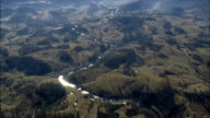 great smoky mountains - Aerial View - North Carolina,  Swain County,  United States video