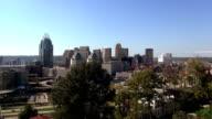 Great view on the skyline of Cincinnati  - CINCINNATI, OHIO USA video