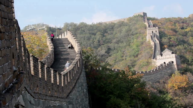 Great Wall of China in Summer video