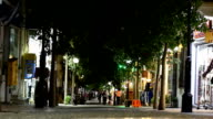 Greece. City center at night video