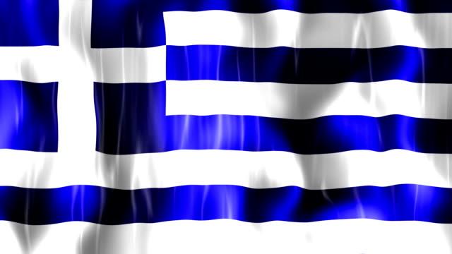 Greece Flag Animation video